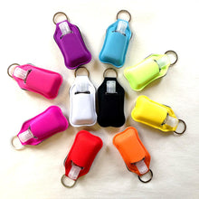 Load image into Gallery viewer, Hand Sanitiser Pouch Keyring + 30ml Bottle