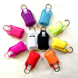 Hand Sanitiser Pouch Keyring + 30ml Bottle