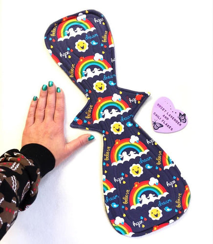 Heavy Duty Cloth Sanitary Pads - Moon Shape