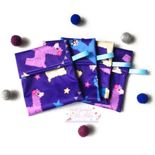 Load image into Gallery viewer, SLACF Mini Wet Bags - Wrappers (HANDMADE)