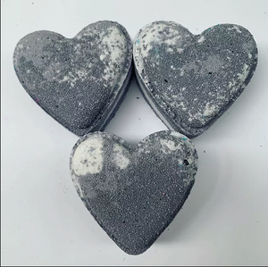 Mr. Grey Love Heart Bath Bomb