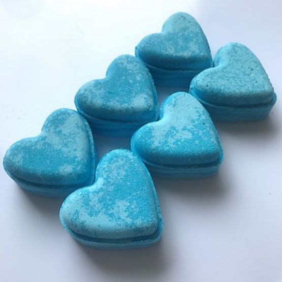 Ocean Musk Love Heart Bath Bomb