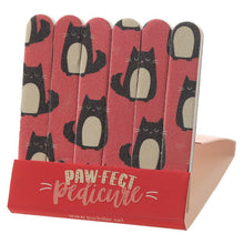 Load image into Gallery viewer, Feline Fine Cat Matchbook Nail File