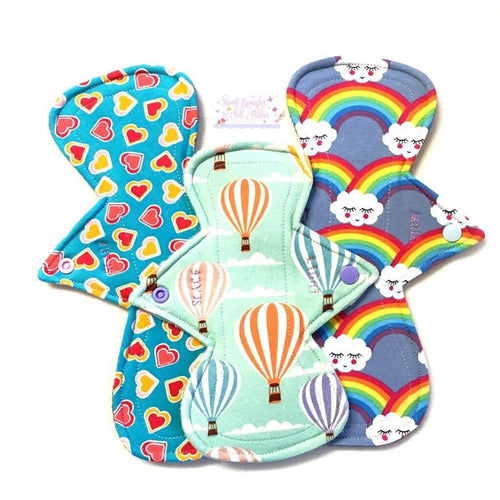 Cloth Sanitary Pads - Regular & Heavy Starter Pack