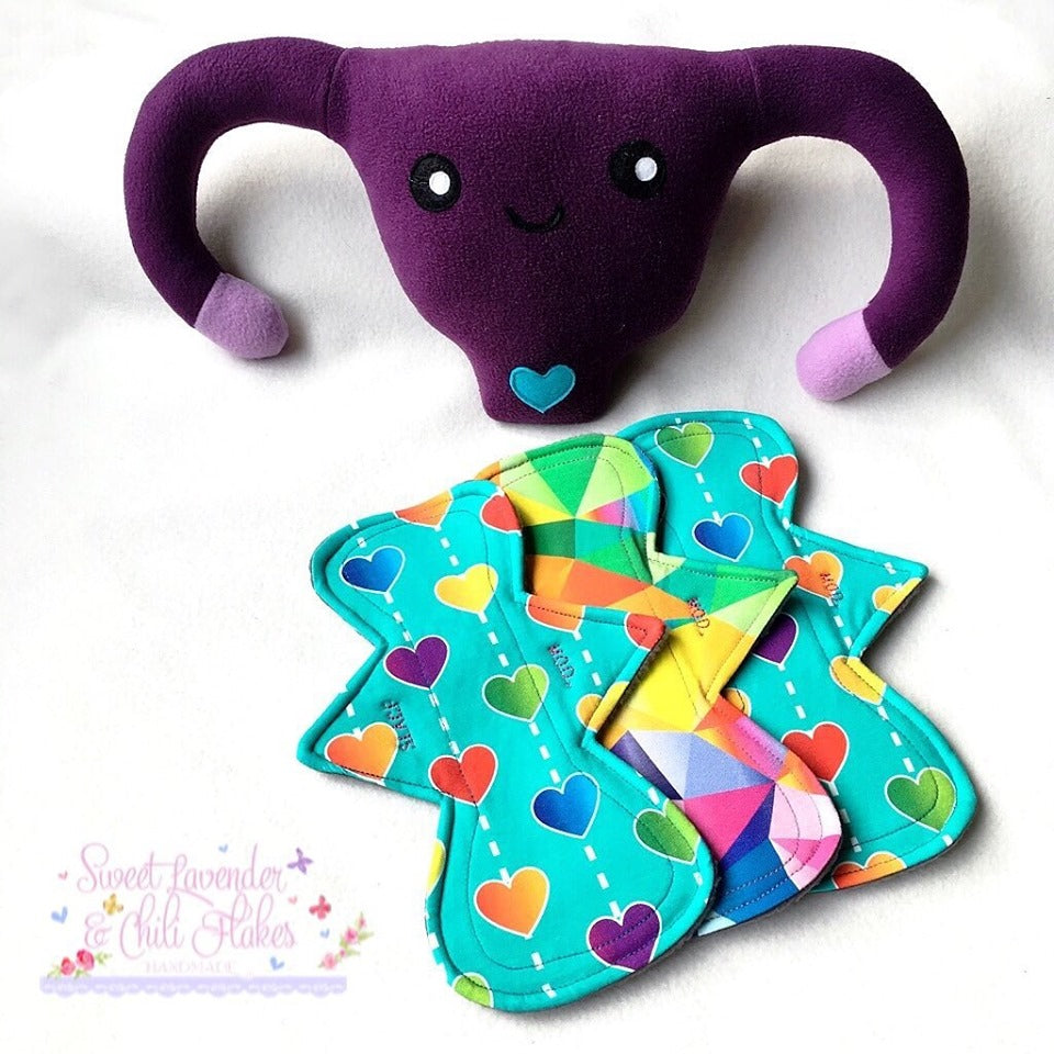 Cloth Sanitary Pads - Moon Shape