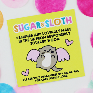 Sugar & Sloth - Happy Days Stud Earrings