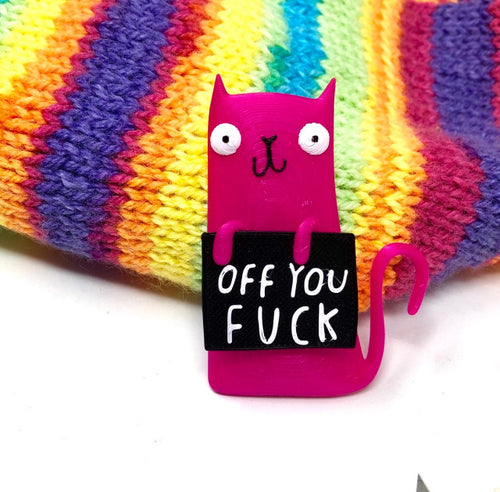 OFF YOU F*CK - Honest Rainbow Cats Collection