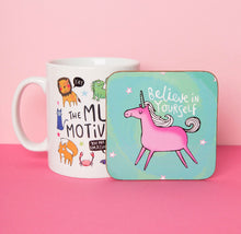 Load image into Gallery viewer, Believe In Yourself Coaster - Katie Abey - 1 Coaster