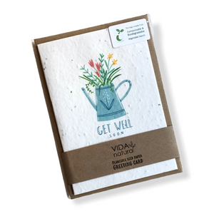 Seed Paper Greeting Cards - Single