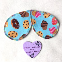 Load image into Gallery viewer, Reusable Handmade Nursing Pads - Butterfly Wings Shape