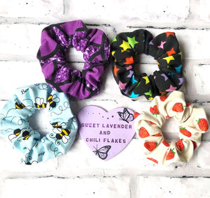 SLACF Mini Scrunchies