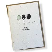 Load image into Gallery viewer, Seed Paper Birthday Cards - Single
