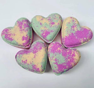 Fruit Salad Love Heart Bath Bomb