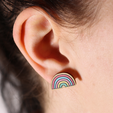 Load image into Gallery viewer, Sugar & Sloth - Happy Days Stud Earrings