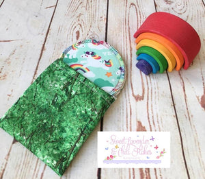 SLACF Mini Wet Bags - Wrappers (HANDMADE)