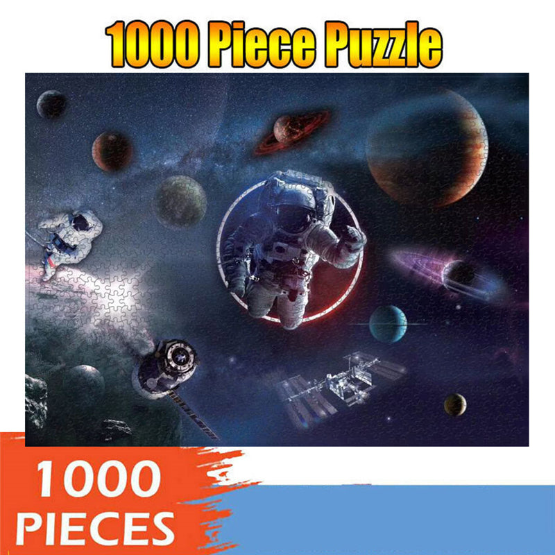 Perfect puzzle for family-1000 Piece Puzzles