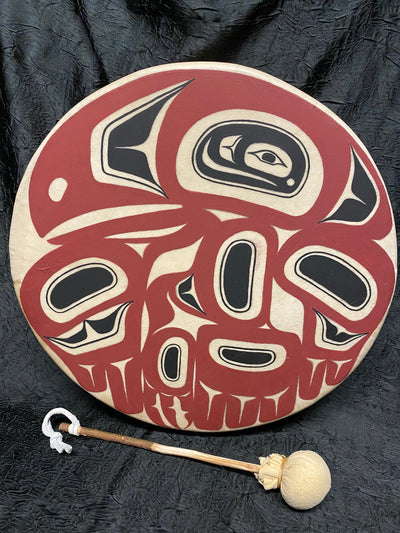 "12"" Mystery Raven Drum"