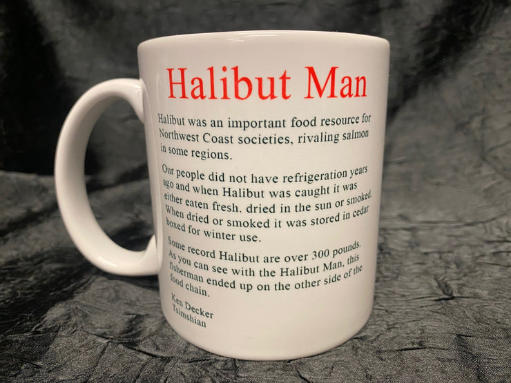 Halibut Man Mug