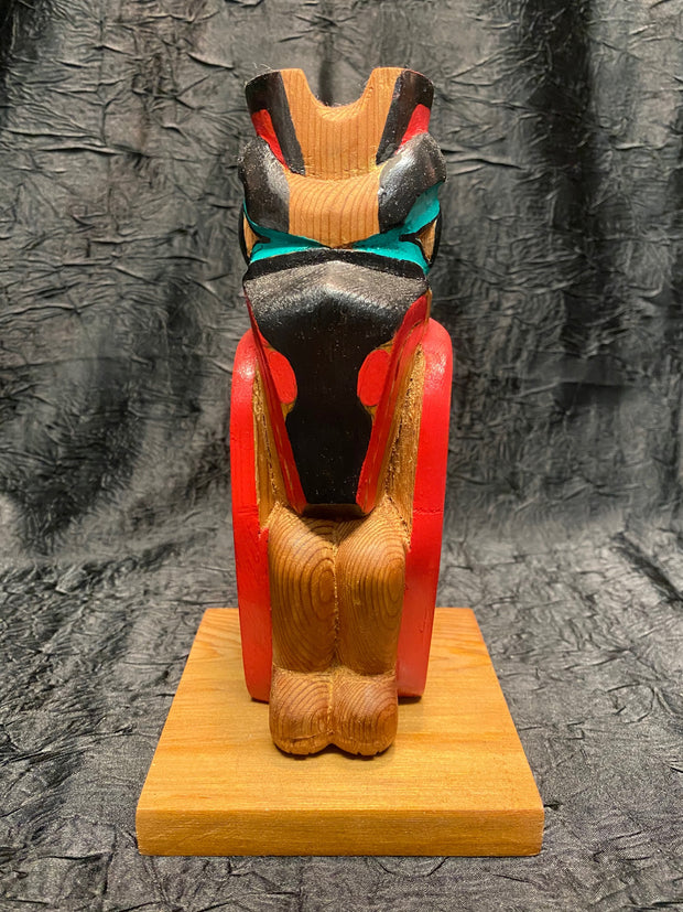 Raven Totem Pole by Michael Vandal