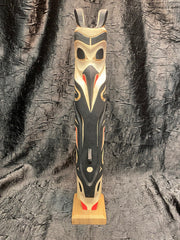 Raven Killer Whale Totem Pole by Norman Natkong Jr.