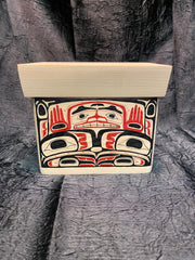 Eagle Spirit Bentwood Chest by George Bennett