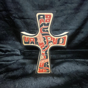 Northwest Coast Crosses by Ken Decker