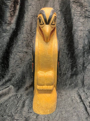 Ealge Totem Pole by Fred Trout