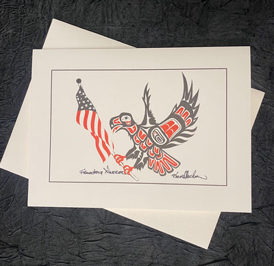 Freedom Warrior Art Card