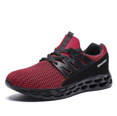 Blade bottom mesh breathable sneakers