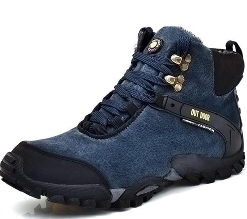 Autumn and winter outdoor hiking leather sneakers