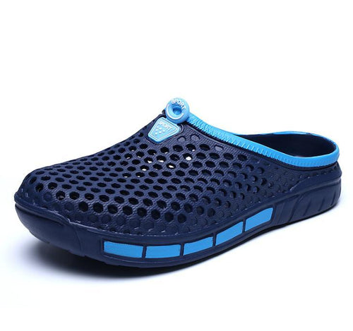 Beach nest breathable soft bottom slippers