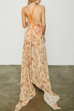 Load image into Gallery viewer, Elegant Sexy Floral Print Maxi Dress