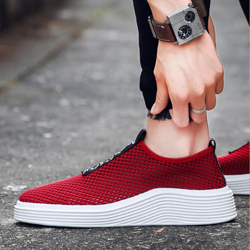2018 Spring/Summer New Flat Mesh Sneakers