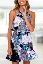 Load image into Gallery viewer, Halter  Print  Sleeveless Bodycon Dresses