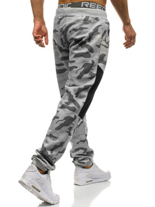Men's Camouflage Guard Pants Casual Sports Pants