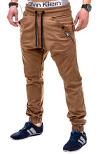 Load image into Gallery viewer, Men's Casual Plain Long Pants