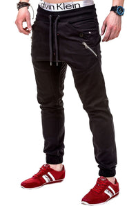 Men's Casual Plain Long Pants