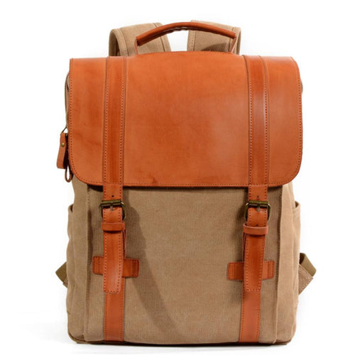 Canvas Casual Outdoor Travel Backpack
