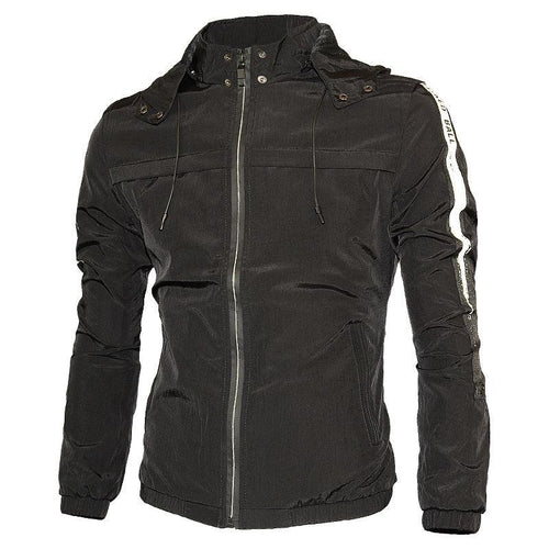 Men's Casual Detachable Hooded   Jacket
