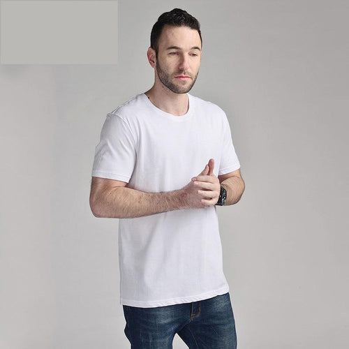 Round Neck Short Sleeve   Quick-Drying Cotton T-Shirt