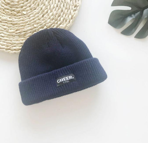 Fashion outdoor wild couple short board knit hat
