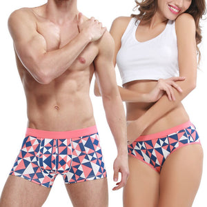New  Couple Underwear Cotton  Briefs