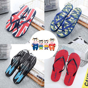 Comfortable casual non-slip wearable men's slippers