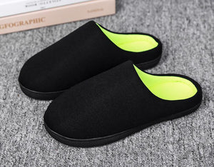 Autumn and winter indoor non-slip home warm slippers