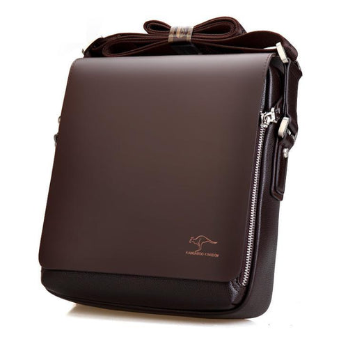 Men's leather crossbody business men's bag