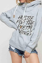 Load image into Gallery viewer, Hooded  Letters  Basic  Hoodies