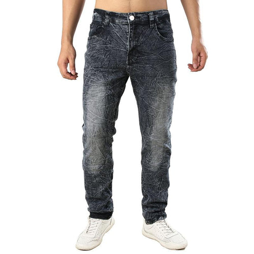 Fashion casual grind arenaceous jeans