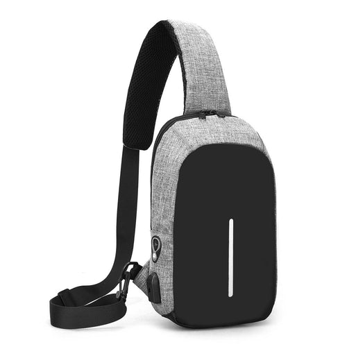 Fashion Men's outdoor Casual breast bag   Crossbody Bag