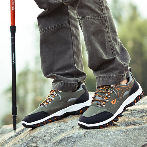 Men's outdoor climbing net sneakers