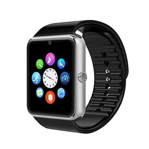 Smart Watch GT08 Bluetooth Fitness Watch With Camera SIM Card For IOS Android Wear Touch Clocks Waterproof Cell Phone Watches
